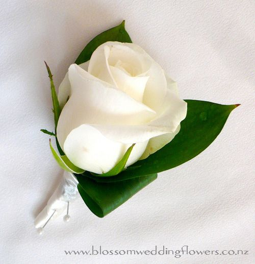 17 best ideas about White Rose Boutonniere on Pinterest | White ...