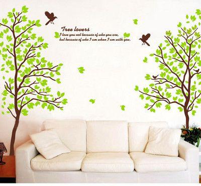 Wall Art - Trees - decal sticker
