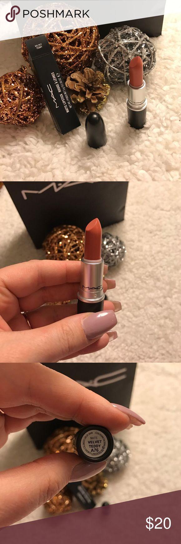 Mac Velvet Teddy Matte Lipstick! 💄💄💄 Brand new Mac Velvet Teddy Matte Lipstick!! 💄 This is one of Mac's best sellers!! Free gifts with purchase!! 🎉🎉🎉 MAC Cosmetics Makeup Lipstick
