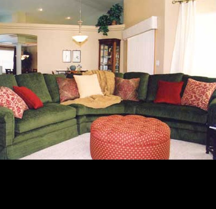 17 best ideas about dark green couches on pinterest for What colour matches olive green