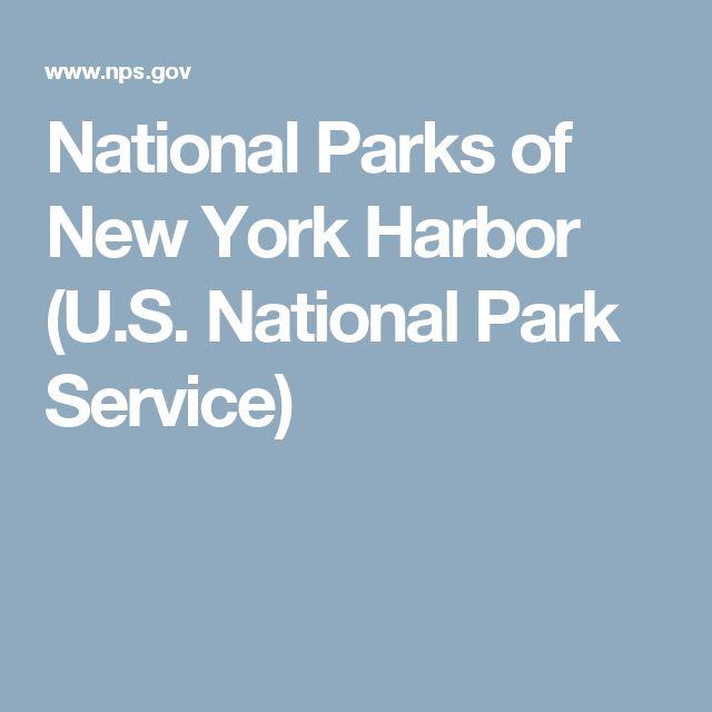 National Parks of New York Harbor (U.S. National Park Service)