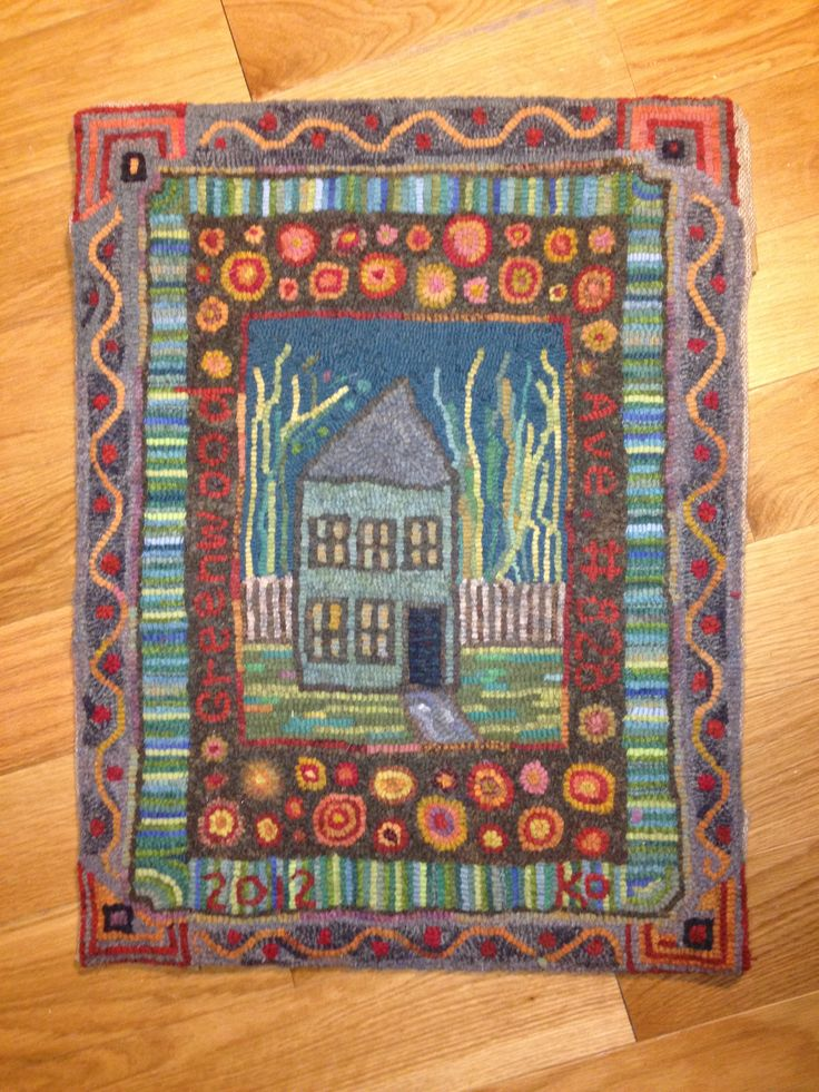 Find This Pin And More On Rug Hooking   Modern By Disbrowc.
