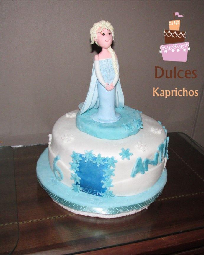 #TortaFrozen en #Dulceskaprichos #TortasArtisticas #TortasDecoradas