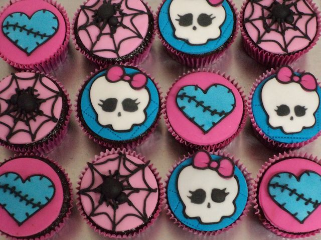 Cupcakes Monster High | Flickr - Photo Sharing!