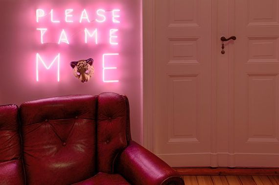 'Friendship' handmade neon sign inspired by Le Petit by sygns