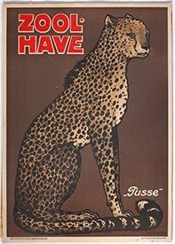 Zoo - Gepard plakat - Leopard poster, Copenhagen Zoo