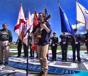 Philip Phillips performed a stirring National Anthem at the 2015 Daytona 500.
