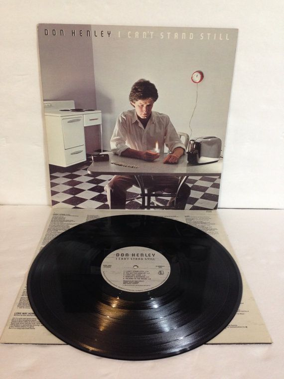 Don Henley I Can't Stand Still Vintage Vinyl Record Album LP 1982 Elektra Asylum Records E1 60048 by NostalgiaRocks