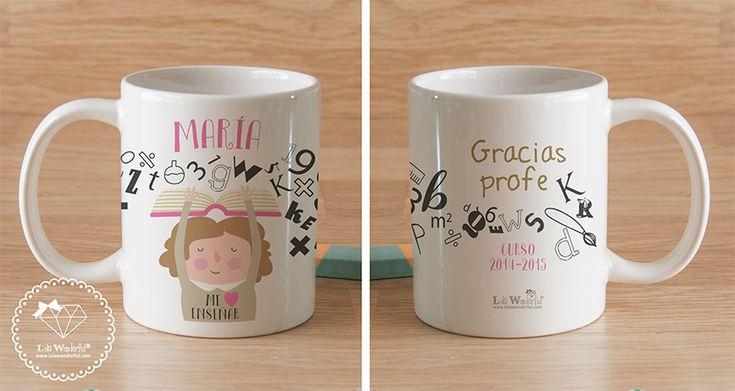 Resultado de imagen para tazas personalizadas dia del maestro