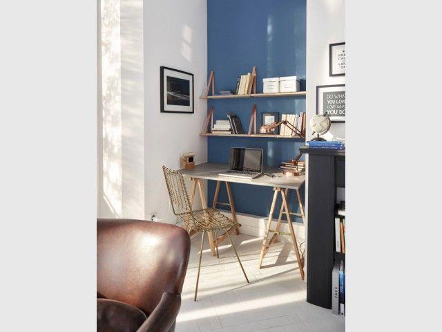Amenager Un Bureau Dans Un Petit Espace 30 Idees Futees Petit Espace Bureau Decoration Maison
