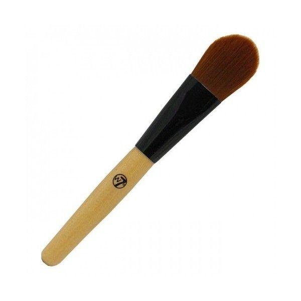 Το W7 Foundation Brush σας βοηθάει να πετύχετε άψογη και ομοιόμορφη εφαρμογή του foundation σας. Οι απαλές τρίχες του διευκολύνουν το blending ενώ η μεγάλη ξύλινη λαβή του το κάνει ιδιαίτερα εύχρηστο.