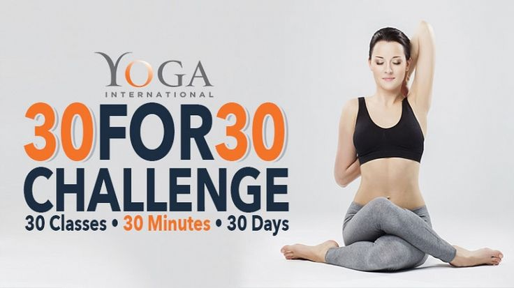 30 for 30 Challenge | Yoga International