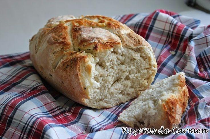 rezetas de carmen: Pan de ajo y orégano