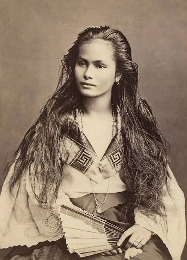 Luzon Woman From The Philippines