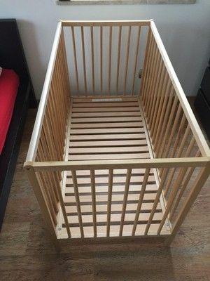 Łóżeczko IKEA+kołderka i 3x pościel :)