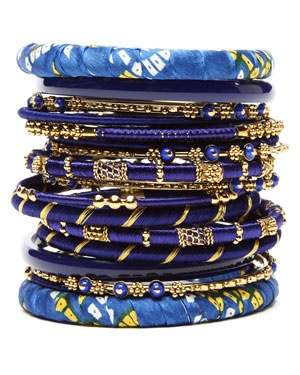 .Bangles Sets, Style, Fashion Bracelets, Blue Bangles, Madhuri Bangles, Jewelry, Amrita Singh, Bangles Bracelets, Accessories