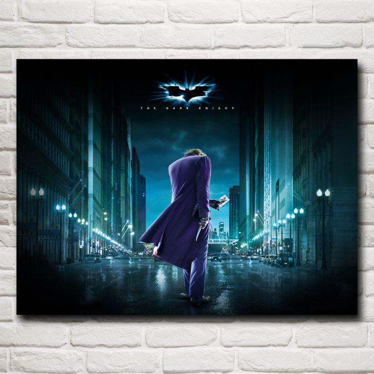 25 best ideas about joker heath ledger poster on for Dark knight mural