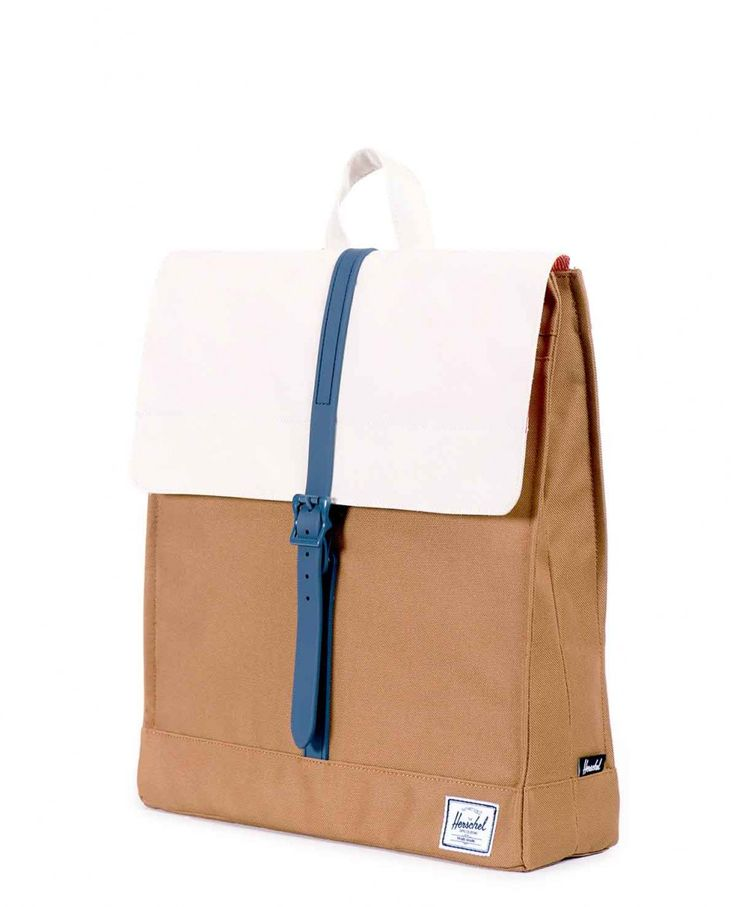 Рюкзак Herschel City Caramel Natural Navy Rubber 4200 руб.