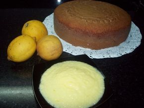 Crema de limón para rellenar tartas