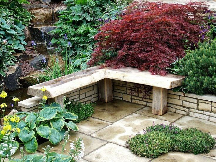 25 best ideas about stone edging on pinterest landscape edging rock border and rock garden - Corner pond ideas ...