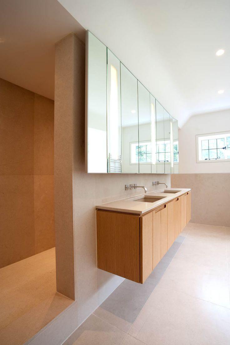 Essence 1 750mm wide shaving cabinet cibo design - Mirror And Vanity Cabinets In Oak