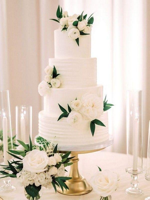 29++ Elegant wedding cakes 2020 trends