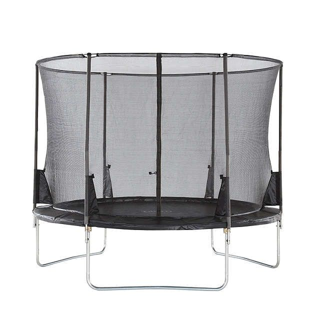 BuyPlum Space Zone II 10ft Trampoline & Accessory Pack Online at johnlewis.com