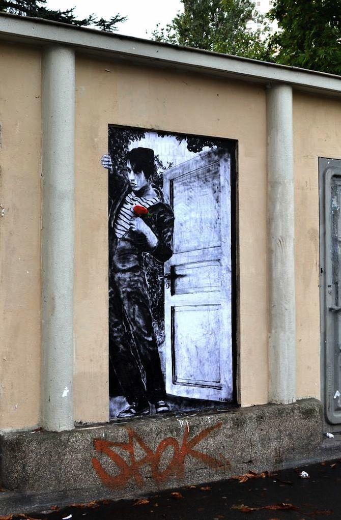 Charles Leval, aka Levalet, Paris, FR