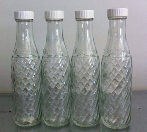 Sodastream bottles from the early 1980s