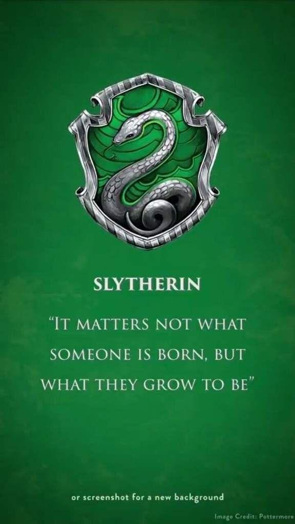 Slytherin Harrypotter Harry Potter Zitate Harry Potter Bildschirmhintergrund Slytherin