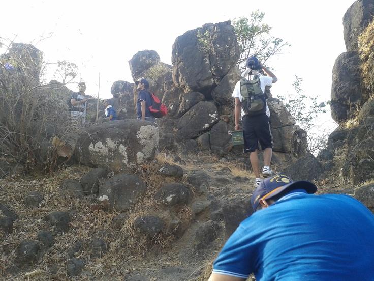 #pandawgad #fort #trek near #pune