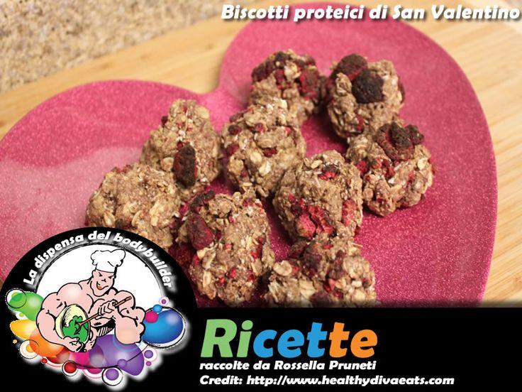 Biscotti proteici di San Valentino