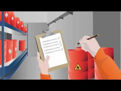 Video: Operación con sustancias peligrosas | Prevencionar Perú | Prevencionar Perú