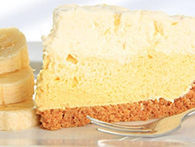 Торт с банановым кремом