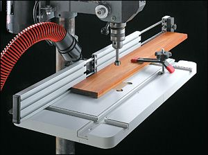 Drill-Press Table & Fence - Woodworking