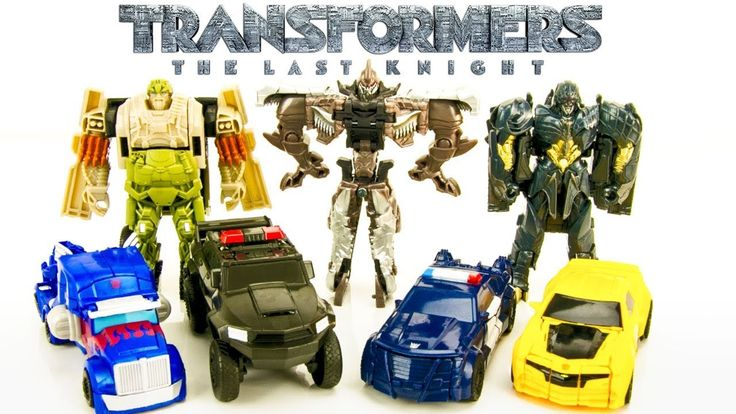 Our New Transformers The Last Knight (Transformers 5) Turbo One Step Changers From Wave 1 and 2 with Optimus Prime Bumblebee Barricade and more! Make sure to check back soon for more Transformers Toys.  Fun Transformers Videos For Kids  TRANSFORMERS THE LAST KNIGHT ONE STEP TURBO CHANGERS Megatron Bumblebee Grimlock Toys Wave 2 - https://www.youtube.com/watch?v=5qMQdgTQG90  TRANSFORMERS THE LAST KNIGHT ONE STEP TURBO CHANGERS Bumblebee Optimus Prime Toys Wave 1 - https://youtu.be/i34mbTz83tM…