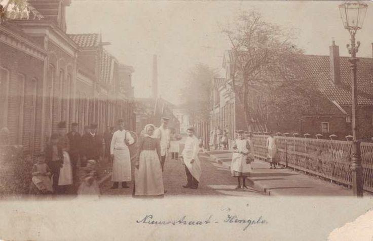 Nieuwstraat Hengelo (jaartal: 1900 tot 1910) - Foto's SERC