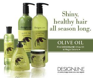 Regis Design Line Olive Oil Shampoo and Conditioner (you can get it in the walmart hair salon)