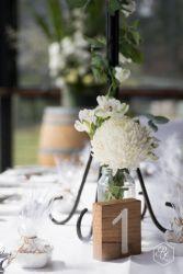 Table centrepiece captured by Rick Liston Photography @ Yarra Ranges Estate. Winery Wedding | Yarra Valley Wedding | Dandenong Ranges Wedding