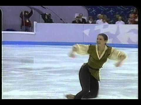 Katarina Witt (GER) - 1994 Lillehammer, Figure Skating, Ladies' Technica...