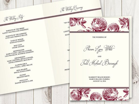 Best Wedding Invitation Templates Classic Roses Images On