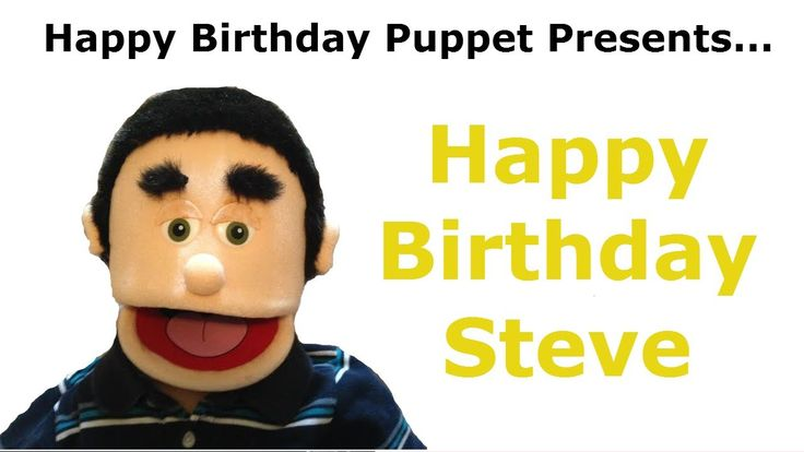 Funny Happy Birthday Steve Video - happy birthday steve, song happy birthday, funny birthday song, happy birthday puppet, happy birthday, happy birthday to you, dog attack, dog bite
