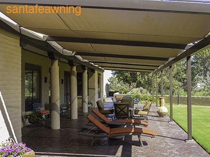 Patio Cover In Awning Fabric