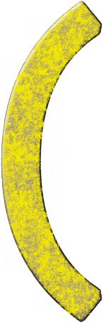 Cambodia Chipboard Bracket - Yellow