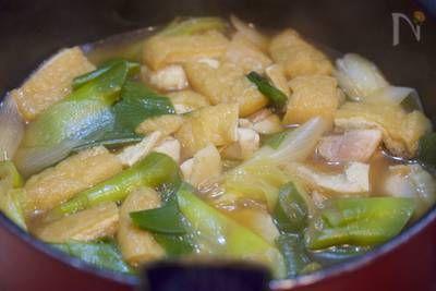 スープまで飲み干す美味しさ♪『鶏ネギ甘辛鍋』 by Yuu   レシピサイト「Nadia   ナディア」プロの料理を無料で検索