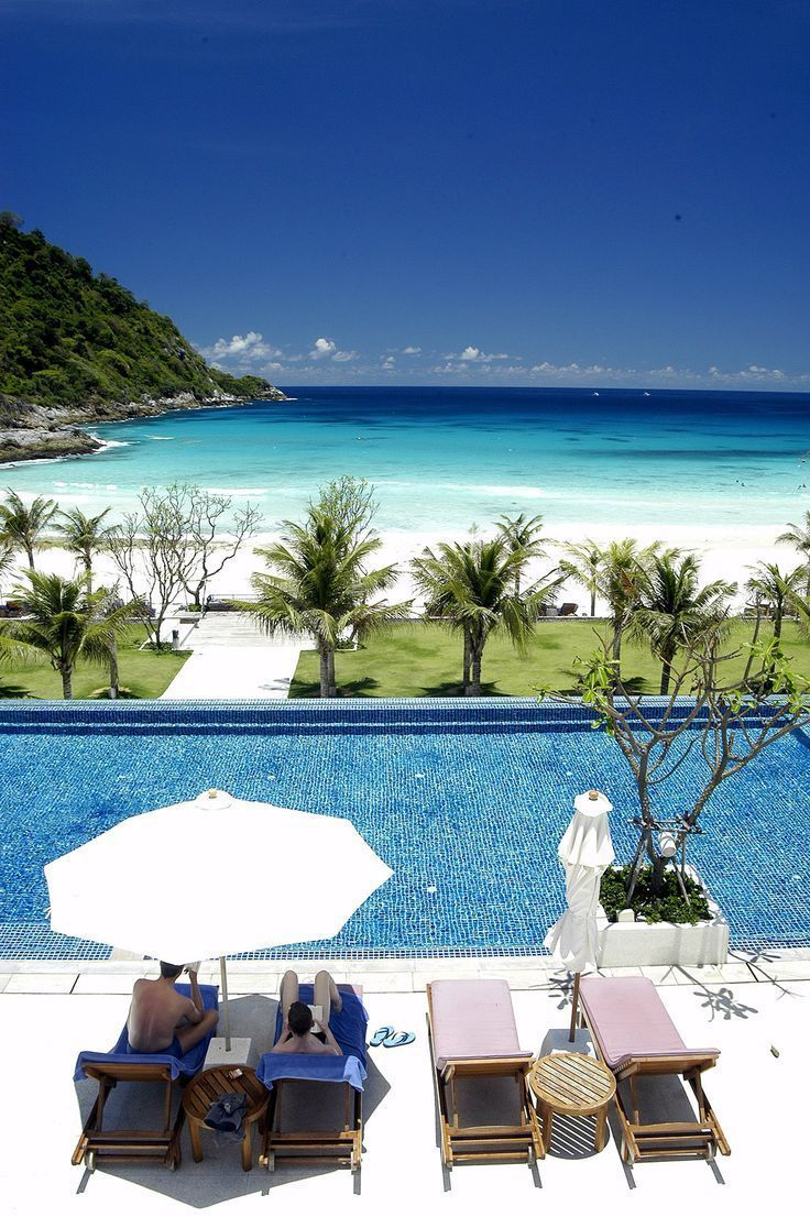 Pool Day In Koh Samui Come Here If You Are A Nature Lover And A Beachgoer This Area Has Dense Tropical Foliage And P Florida Hotels Hotels And Resorts Phuket