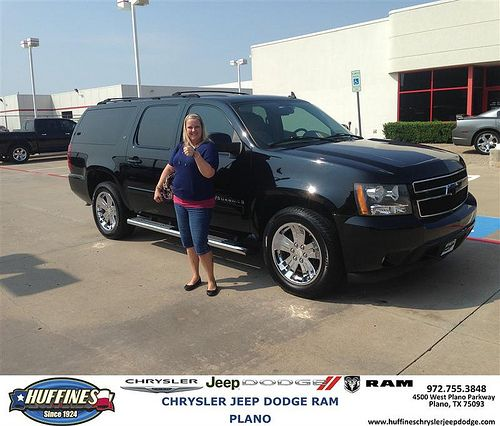 Thank you to Deana Moreno on your new 2007 Chevrolet Suburban from Zach Stanley and everyone at Huffines Chrysler Jeep Dodge RAM Plano!