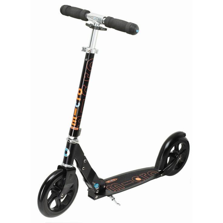 Svart Micro Black sparkesykkel - Sparkesykkel - xxl.no