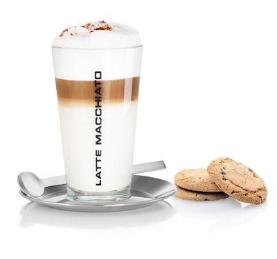 Blomus Cono latte macchiato set. Sit back and enjoy! #koffie