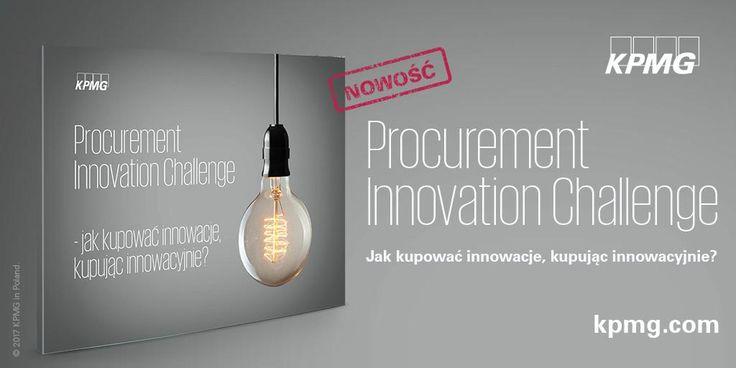 Procurement Innovation Challenge – jak kupować innowacje, kupując innowacyjnie? → http://bit.ly/2kw3kps | W erze transformacji cyfrowej kluczem do sukcesu poszczególnych spółek i całych sektorów gospodarki jest innowacyjność – dla 70% dostawców innowacje produktów i usług są elementem, na którym się koncentrują i stanowi wyróżnik na tle konkurencji.